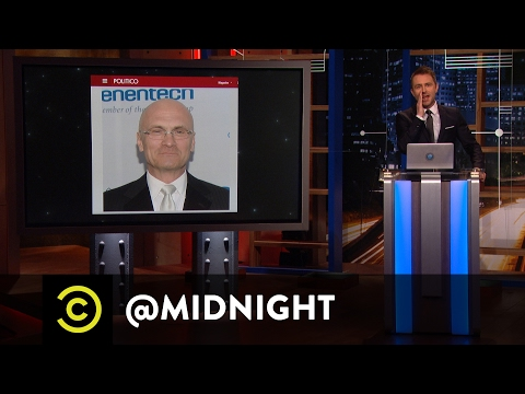 The Drama Never Ends for the Trump Administration - @midnight with Chris Hardwick