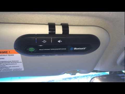 Громкая связь в автомобиль с Aliexpress