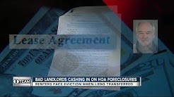 I-Team: Dozens of renters of HOA foreclosure properties evicted amid dispute over title ownership