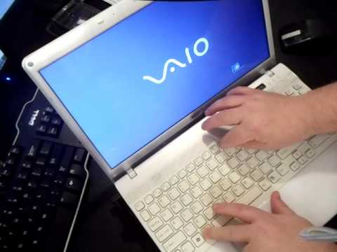 Sony vaio laptop factory restore reinstall windows (reset vgn sve.