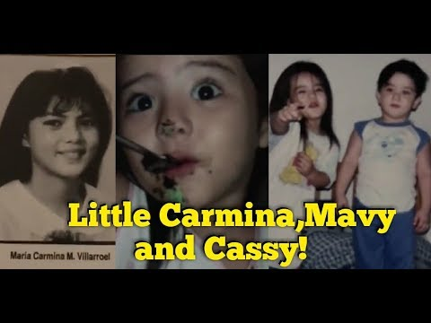 CARMINA VILLAROEL SHARES A THROWBACK PICTURE OF HER AND HER TWIN MAVY AND CASSY!