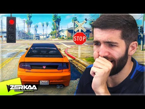 I Tried Playing GTA 5 Without Breaking ANY Laws! (GTA 5)