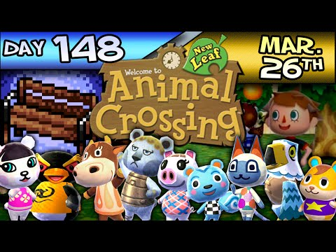 Animal Crossing: New Leaf – Day 148 – Mar. 26 – Go For The Goldfish!