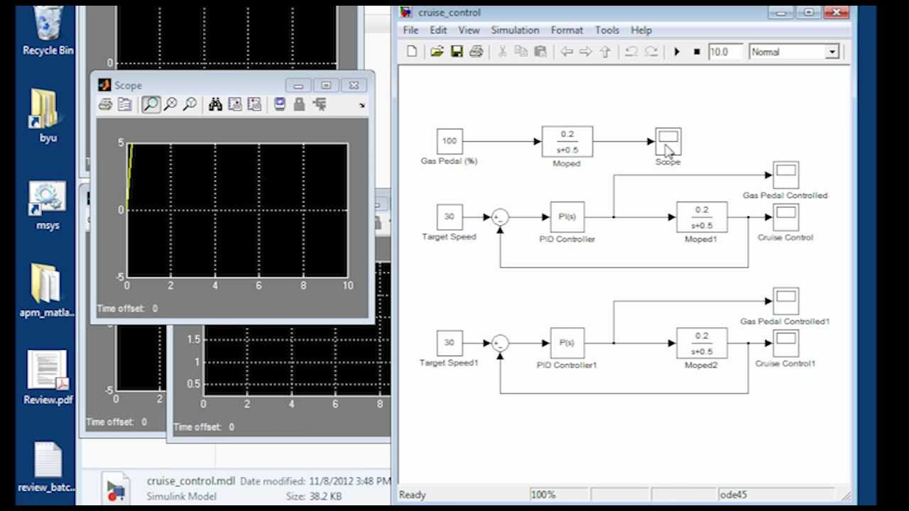 State Space Modeling in MATLAB and Simulink