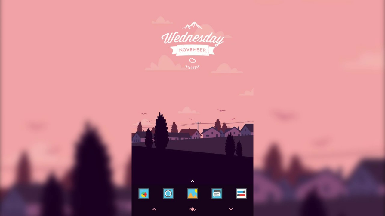 TodaySetUp Using Trident for Zooper, Timeless Icon Pack and Navigate -  CM13/12 Theme