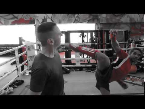 acting head chop kick :