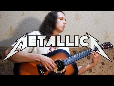 Best Metallica clean riffs | acoustic guitar cover | Andriy Vasylenko