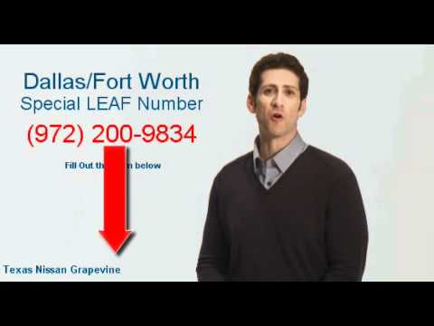 Nissan Leaf Video Reserve Dallas Fort Worth Southlake Texas