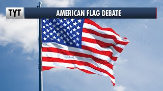 Should Protesters Carry The American Flag?