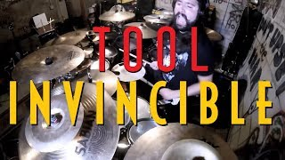 """INVINCIBLE"" (TOOL DRUM COVER) FROM THE NEW ALBUM ""FEAR INOCULUM"""