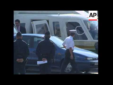 FRANCE: SURVIVOR OF PRINCESS DIANA CAR CRASH LEAVES HOSPITAL