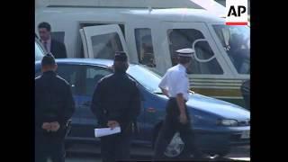 FRANCE: SURVIVOR OF PRINCESS DIANA CAR CRASH LEAVES HOSPITAL