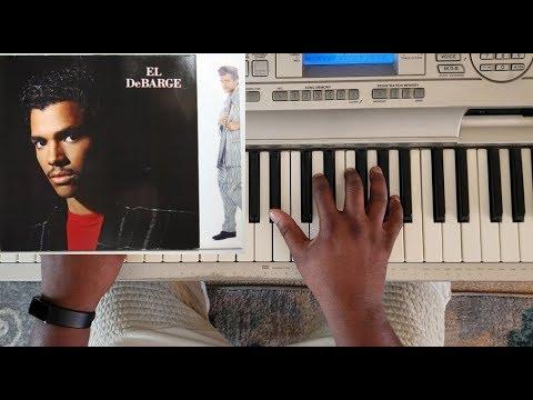 el debarge  - someone (piano tutorial) db minor