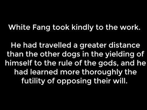 White Fang - 13 Chapter The Covenant