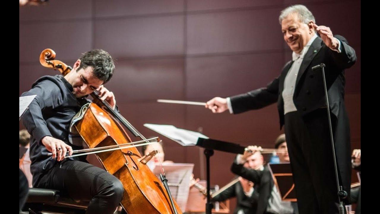 Artwork representing Pablo Ferrández with Zubin Mehta and Orquesta freixenet de la escuela reina Sofía: Tchaikovsky Rococo Variations