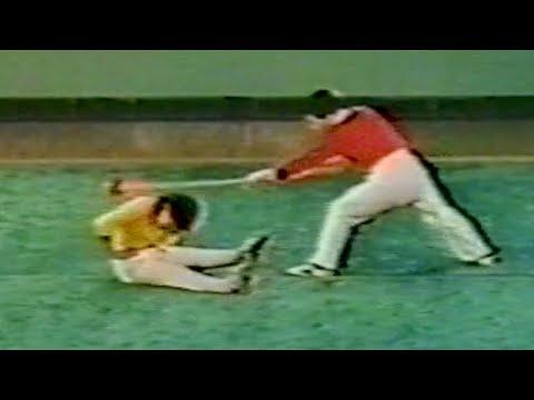 【武術】1976 趙長軍、孟耿成 (空手奪槍) / 【Wushu】1976 Zhao Changjun, Meng Gengcheng (Kongshou Duo Qiang)