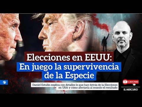 En directo ahora. Las Elecciones en EEUU: En juego la supervivencia de la Especie... con Daniel Estu