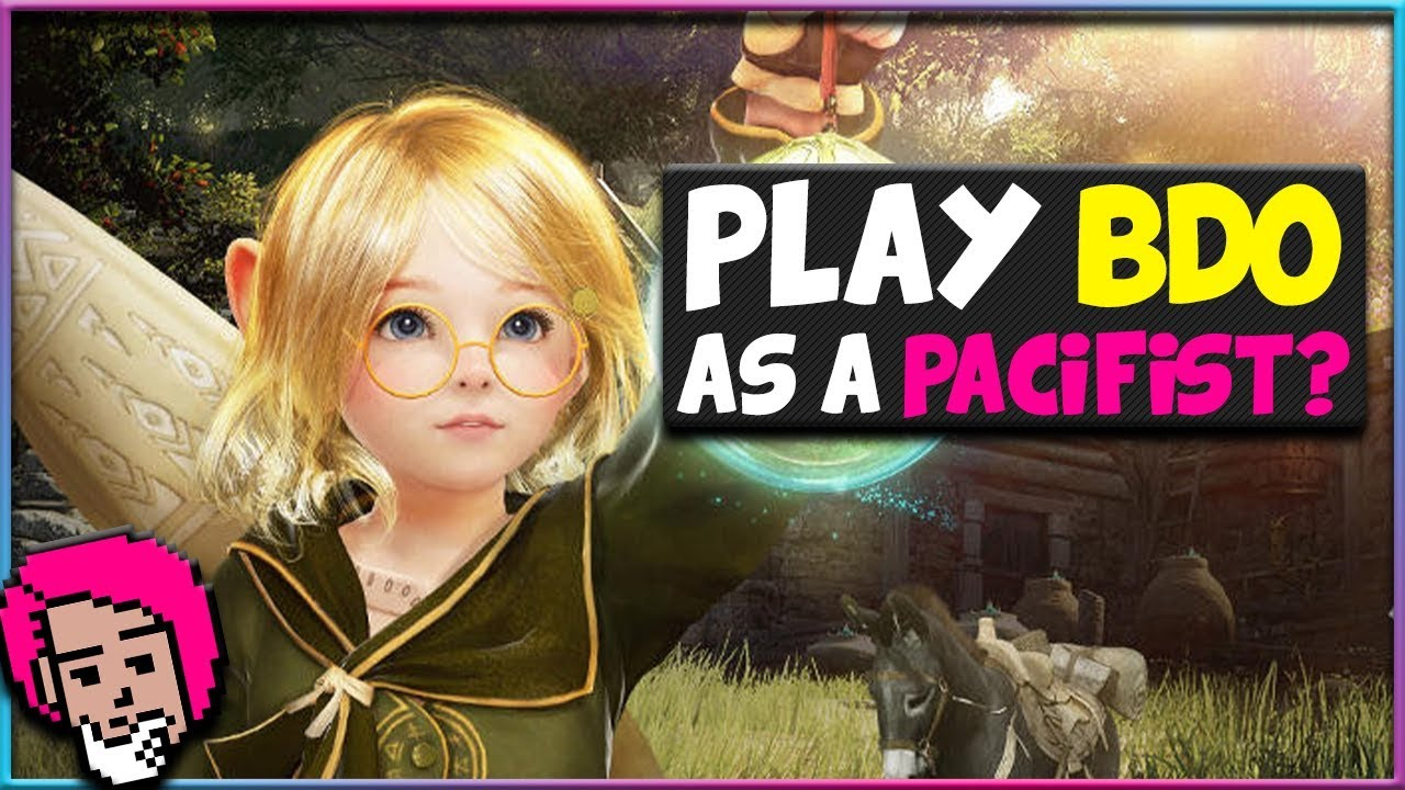 Can You Play Black Desert Online Without Fighting?