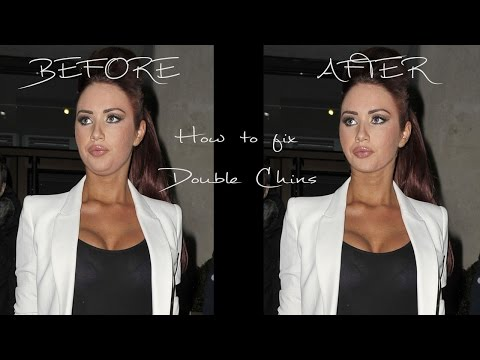 How To Fix A Double Chin - Best Photoshop Effects