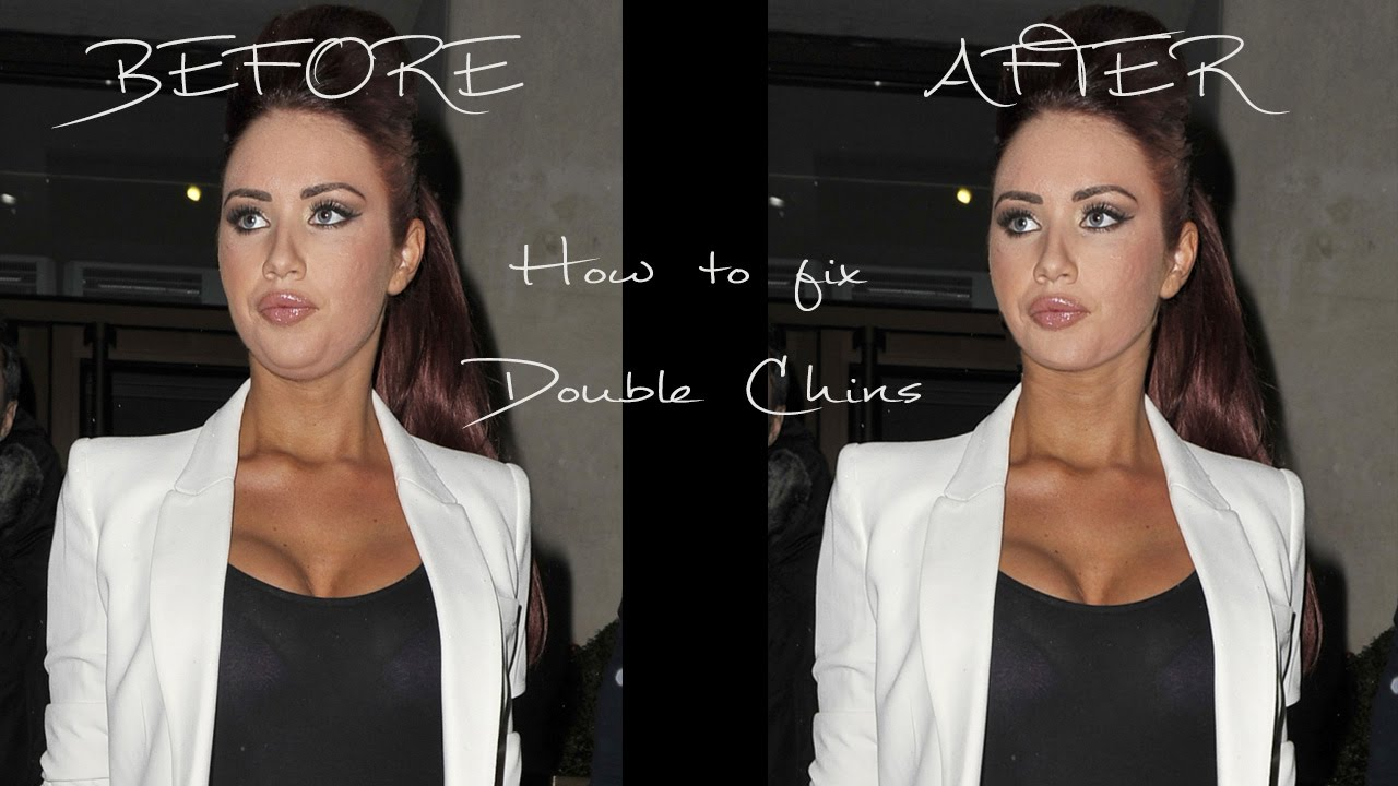 How To Fix A Double Chin Best Photoshop Effects Photoshop Editing Tutorials Photoshop Tips Photoshop Tutorial