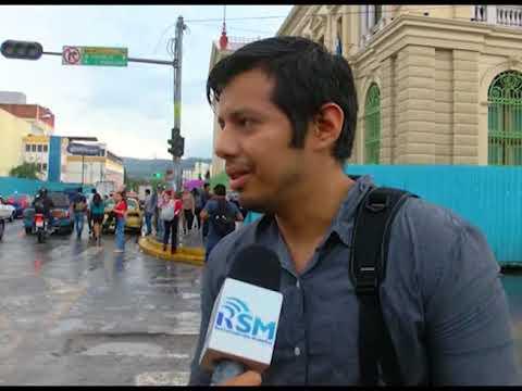 MEDIDAS DE SEGURIDAD EN CENTRO HISTÓRICO DE SAN SALVADOR