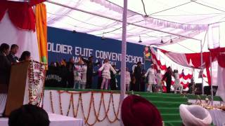 Annual function at St soldier elite convent school 2010