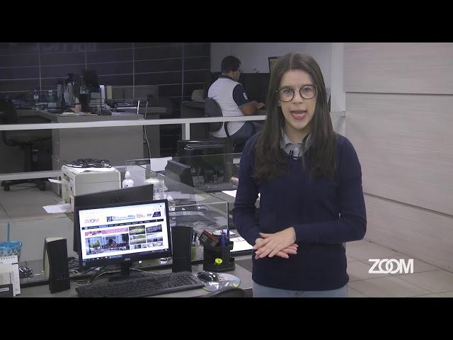 02-12-2019 - CHUVA FORTE NO FIM DE SEMANA - ZOOM TV JORNAL