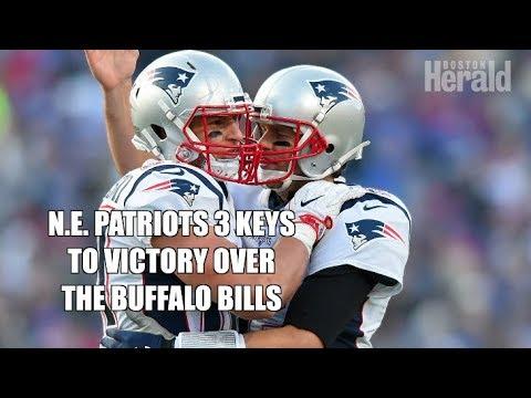 N.E. Patriots & Tom Brady 3 keys to victory over the Buffalo Bills