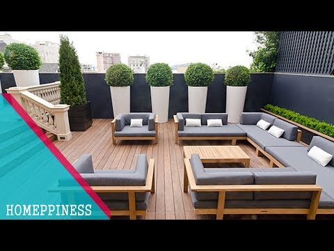MUST WATCH !!! 40+ Modern Patio Ideas With Modern Furniture and Decoration -HOMEPPINESS