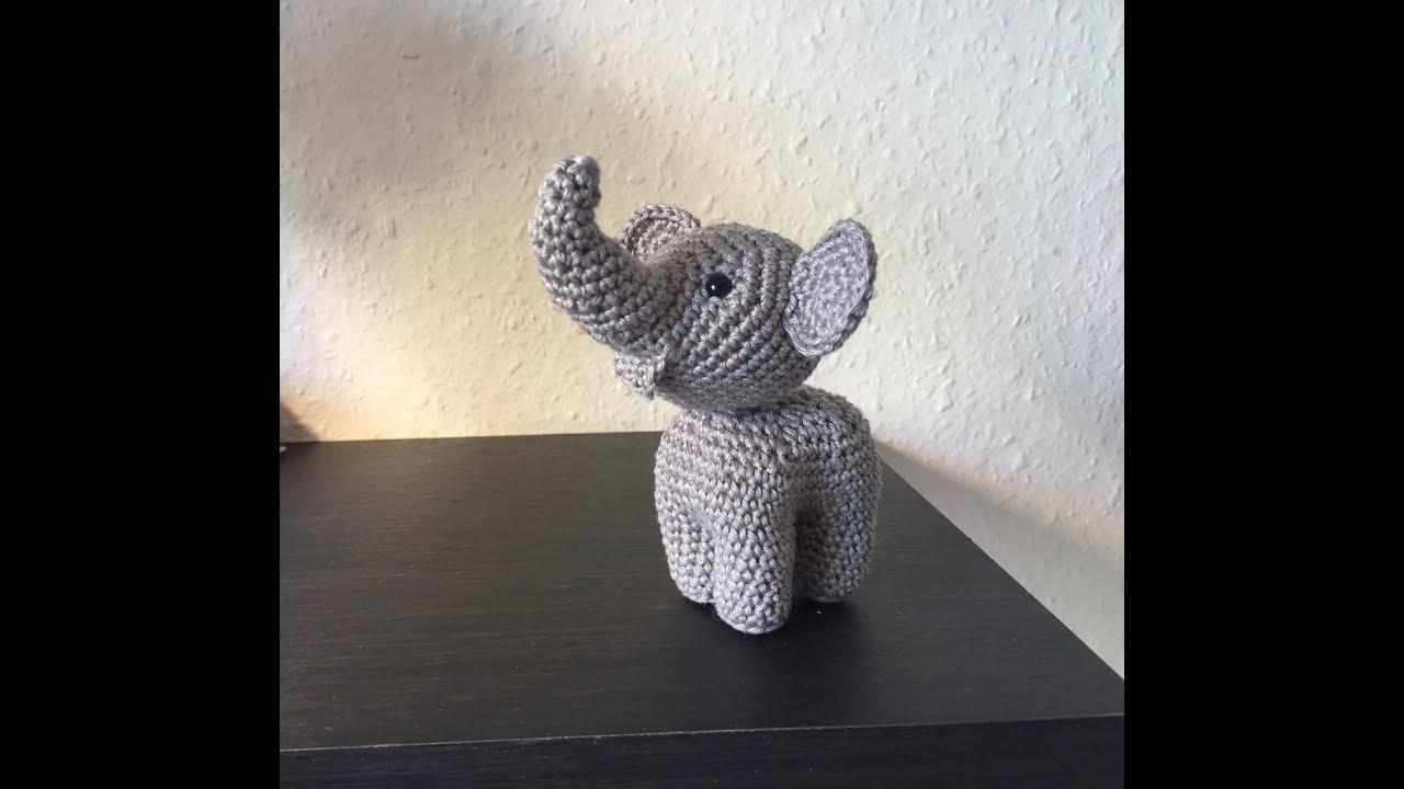 Tuto Amigurumi éléphant Au Crochet Youtube
