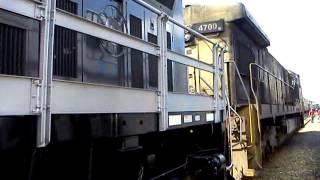 As novas locomotivas AC44 da VLI em itu!
