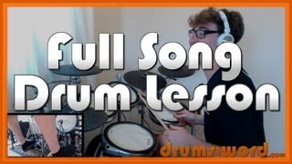 ★ Never Tear Us Apart (INXS) ★ Drum Lesson PREVIEW | How to Play Song (Jon Farriss)
