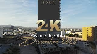 Avance de obra Zona 24K - Diciembre 2020