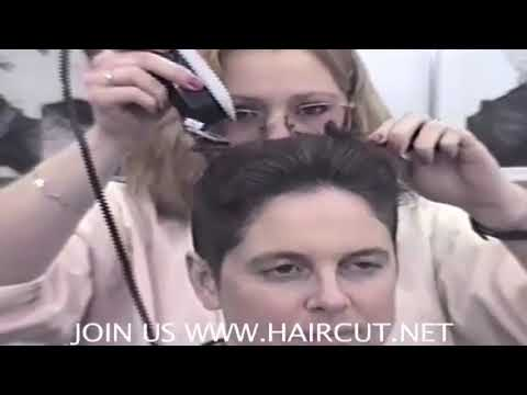 """""""CREWCUT GIRL"""" HOT STYLIST YVETTE GIVES MEGAN SUPER SHORT CUT DVD 157 HAIRCUT.NET PLEASE SUBSCRIBE from YouTube · Duration:  11 minutes 35 seconds"""