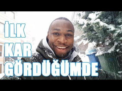 İLK DEFA KAR GÖRDÜĞÜMDE !!! Vlog #5
