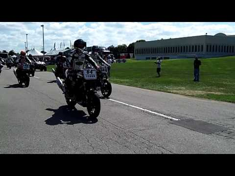 Indianapolis AMA Pro Racing XR1200 roll-out