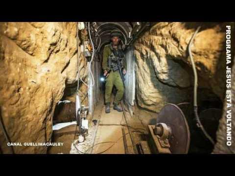 Israel construirá muro subterrâneo para evitar os túneis do hamas