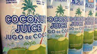 Kokosová voda vs. sportovní nápoje pro sportovní výkon