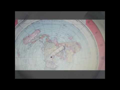 1892 Flat Earth Map Found In Boston Library The Falkland Isl