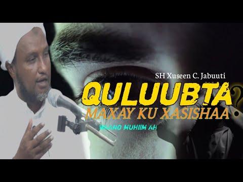 MAXAY QULUUBTU KU XASISHAA BY SH XUSEEN CALI