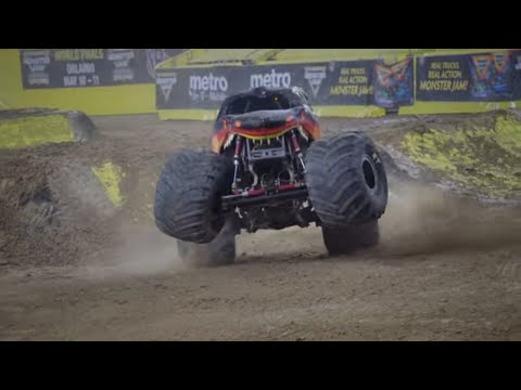 Houston, TX Highlights | Monster Jam 2019 - Stadium Championship Series 3