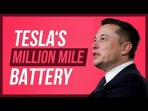 Tesla's Million Mile Battery