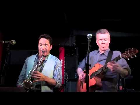 "Peter White and Dave Koz Unplugged- playing ""Here We Go""- Pizza Express 2012"