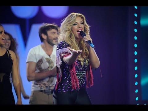 Rebeca canta 'Duro de pelar' en el karaoke final