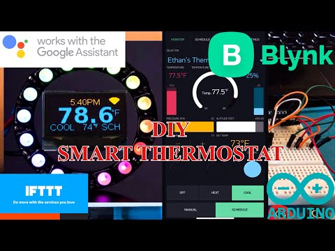 Arduino Smart Thermostat Blynk Google Assistant Part 1: Overview