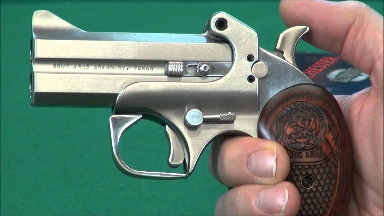 Derringer Bond Arms Snake Slayer weaponseducation