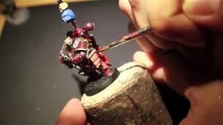 How to Paint Word Bearers Chaos Space Marine - FINAL