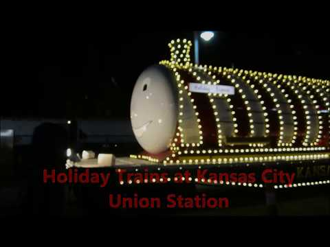Holiday Trains at Kansas City Union Station (12/15/2017)