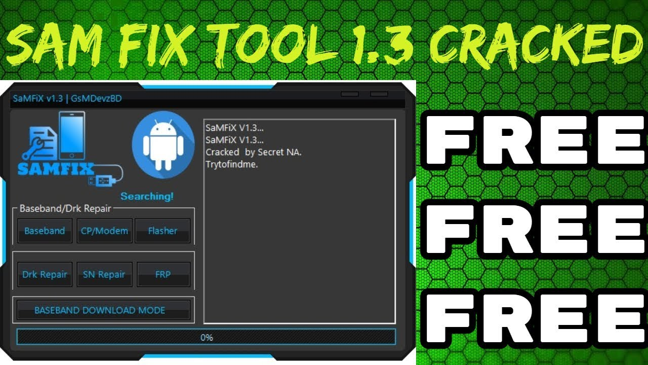 Sam Fix Tool v1 3 0 Full Working WithOut HWID - Technical