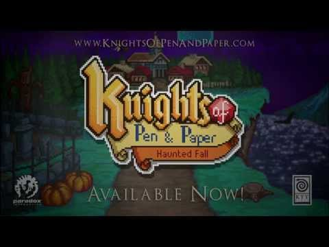 Knights of Pen and Paper: Haunted Fall - Release Trailer (Paradox Interactive)